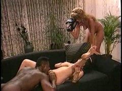 MILF porn with big black knob
