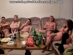 Drunk students go totally wild