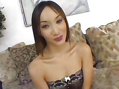 Oriental Katsumi is banged by a group of sexy dicks