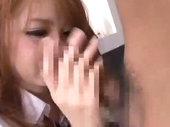 Schoolgirl Giving Oral For Guy Riding On His Wang On The Bed In The Room