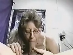 Intelligent cocksucker gives her pretty head to her lover, who possesses really big and strong instrument, which she loves so much.