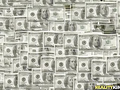 Money Talks gives us another interesting episode about pretty honeys that are in need of some serious cash. Those bitches are willing to do anything they are asked as lengthy as the amount of specie is right. Have a fun watching that hot chick with lengthy darksome hair fucked from behind by a sex machine? Then stay tuned!