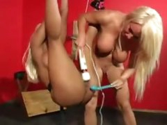 She hangs in slavery and is toyed