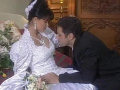 Spectacular Dark brown hair Tania Russof Receives Drilled On Her Wedding Night