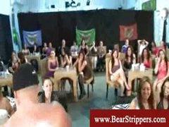 CFNM suck and fuck stripper fest